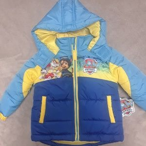 2T paw patrol winter coat